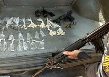 Suspeito é preso após troca de tiros com policiais em Volta Redonda