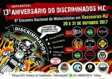 13º Aniversário do Discriminados M.C. e 6º Encontro Nacional de Motociclistas