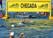 4ª Etapa de Maratona Aquática no Colégio Naval, em Angra dos Reis
