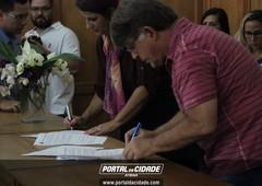 Assinatura dos Convênios