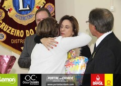 Posse de Diretoria e Associados Lions Clube de Cruzeiro do Oeste