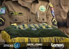 Desfile Militar - Aniversário de 163 anos da PMPR