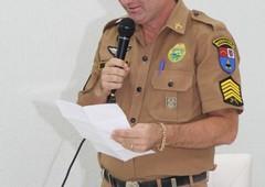 Moção de Aplausos ao 1° Sargento Elizeu Correia de Melo