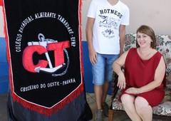Formatura dos alunos do Colégio Almirante Tamandaré