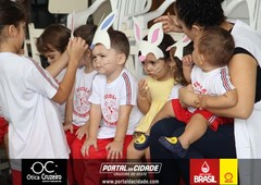 Comemoração de Páscoa, Escola Mundo Encantado