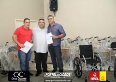 Entrega do Banco Ortopédico - Lions Clube Cruzeiro do Oeste