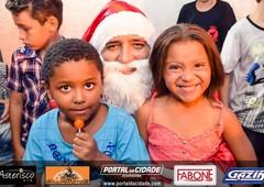 Chegada Papai Noel - Douradina