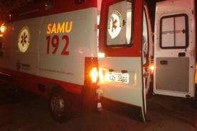 Motociclista fica ferido em acidente na rodovia Herculândia próximo a Ivaté