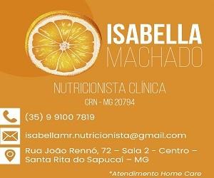 Isabela Machado Nutricionista - Cortesia