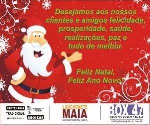 Natal 2018 - Pastelaria Tradicional - Lanchonete Maia - Box 47