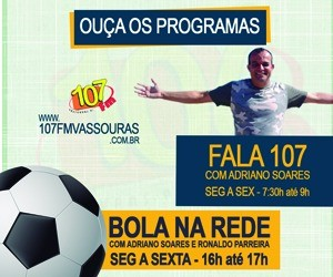 Adriano Soares - 107 FM