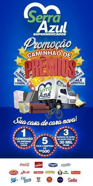 Serra Azul - Caminhão de Prêmios