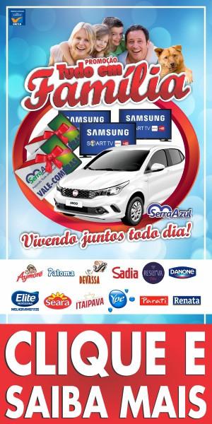 Serra Azul Supermercados - Campanha Promoção Tudo em Família - 11-09-2018