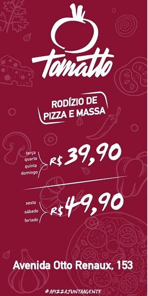Tomatto Rodizio de Pizza e Massas