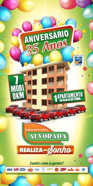 Supermercados Alvorada - Campanha Aniversário 35 Anos