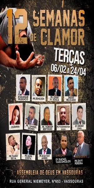 Igreja Assembléia de Deus - Pastor David Elias Pereira