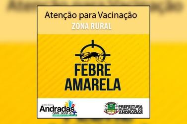 Vacinação conta Febre Amarela na zona rural