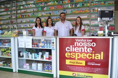 Drogaria Unifarma - Rede Minas Farma agora em Andradas