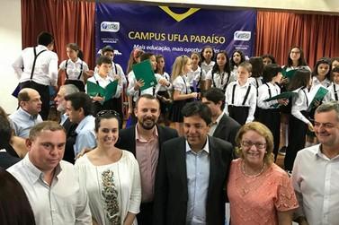 Ministro da Educação recebe equipe de Andradas