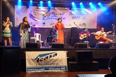 Última semana para as inscrições do 20° Festival da Canção de Andradas