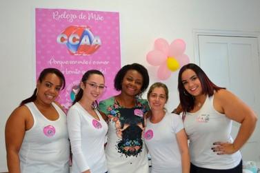 CCAA Andradas realiza Dia da Beleza em comemoração ao Dia das Mães