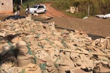 Polícia prende cinco suspeitos de roubar carga de café