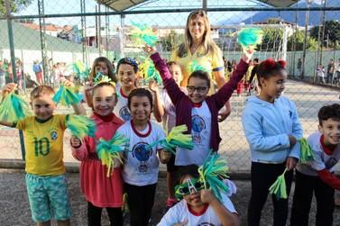 Copa Drumond agita alunos da Escola Municipal Paulo Drumond