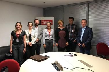 Equipe administrativa participa de reunião com a FIEMG em Belo Horizonte