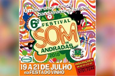 6º Festival Som de Andradas abre inscrições