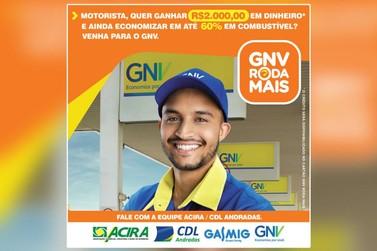 ACIRA/CDL Andradas realizará coquetel para lançar parceria com Gasmig GNV