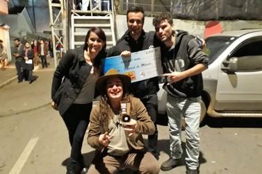 Anderson Martins ficou em 3º lugar no Festival de Música de Cruzília (MG)