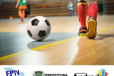 Andradas recebe dois jogos da Taça EPTV de Futsal