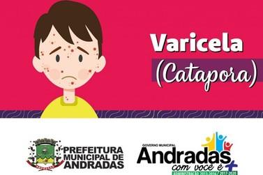 Crianças devem tomar dose de vacina contra Varicela (catapora)