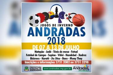 Divulgada a programação dos Jogos de Inverno 2018 em Andradas