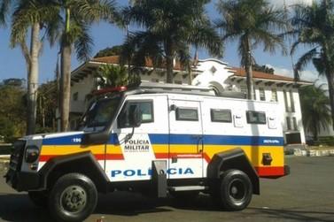 Blindado da Polícia Militar é testado em Poços de Caldas
