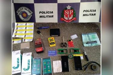 Suspeitos de aplicar golpes na região são presos em São João da Boa Vista
