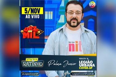 Legião Urbana Cover-SP participará ao vivo no Programa do Ratinho