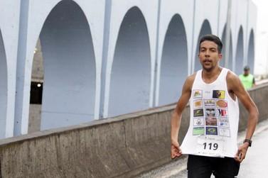 Atleta de Andradas tem bom desempenho na Maratona de Curitiba