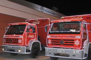 Caravana de Natal da Coca-Cola estará no Shopping Poços de Caldas