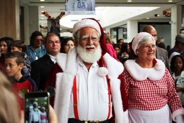 Papai Noel chega ao Shopping Poços de Caldas neste domingo