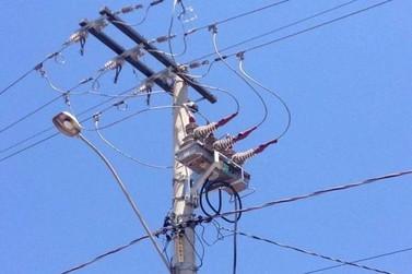 Bairros terão fornecimento de energia interrompido em Andradas
