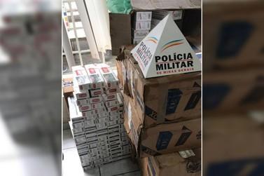 Polícia Militar apreende mercadoria contrabandeada em Andradas