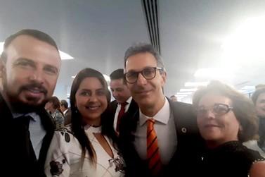 Prefeito de Andradas participa da posse do novo governador de Minas