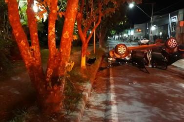 Acidente deixa cinco feridos em Poços de Caldas