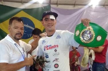 Andradense é campeão mundial de Muay Thai