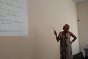 Andradenses participam de palestra sobre Trabalho Infantil