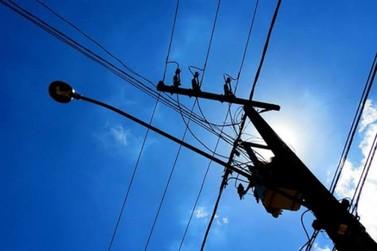 Bairros ficam sem energia elétrica nessa terça em Andradas