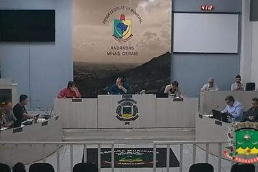 Confira o que foi assunto na 5ª Sessão Ordinária da Câmara de Andradas