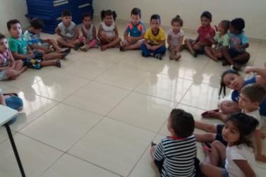 Creches desenvolvem projeto sobre alimentação saudável em Andradas