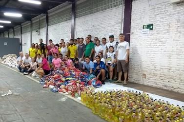 """""""Doe 1 quilo de Amor à Santa Casa"""" arrecada mais de 2 toneladas de alimentos"""